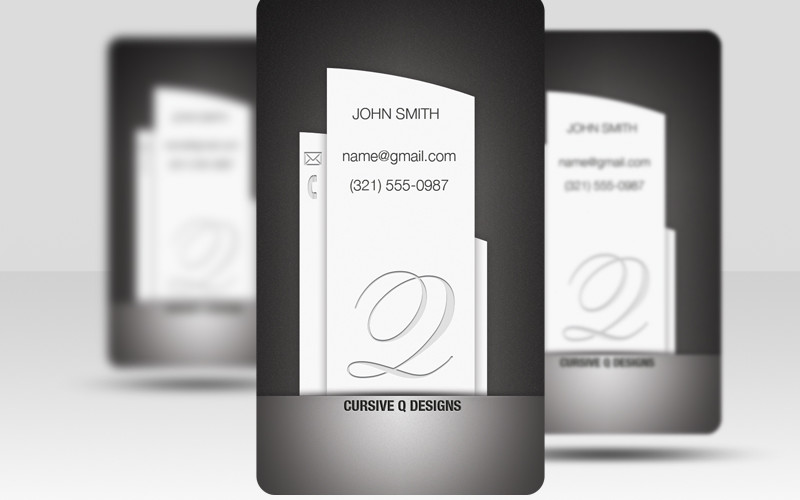 free psd business cards black pillar business cards