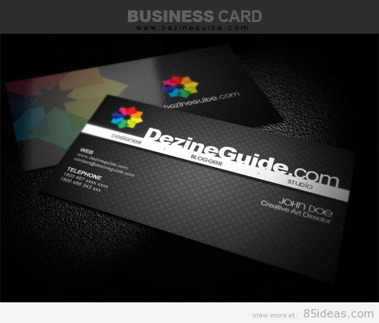 free psd business cards modern business cards