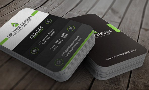 free psd business cards creative card