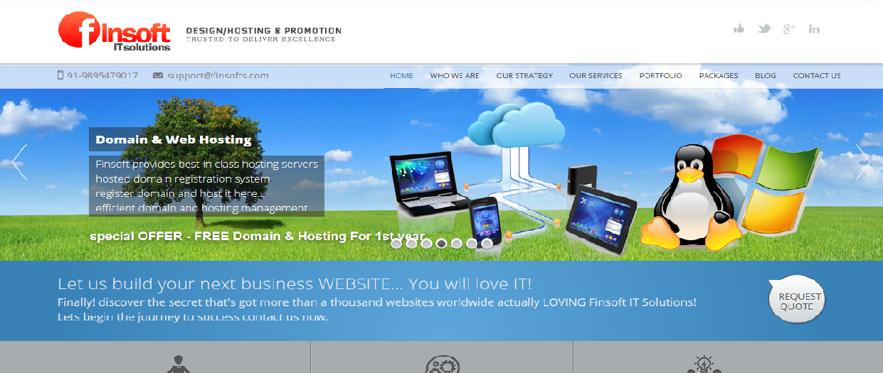 top web design companies finsoft