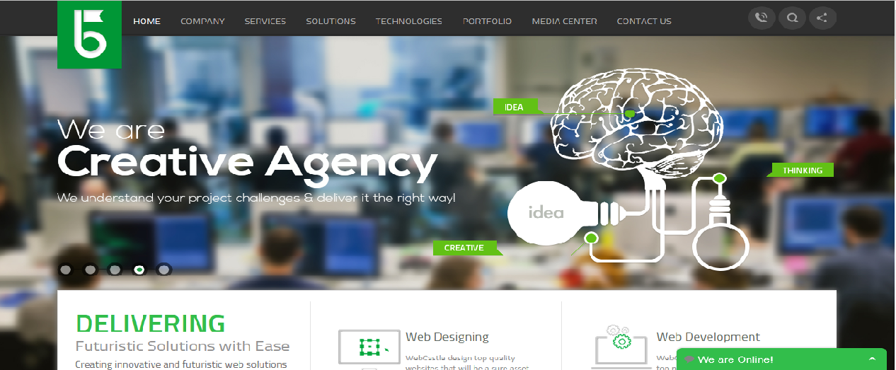 top web design companies webcastle