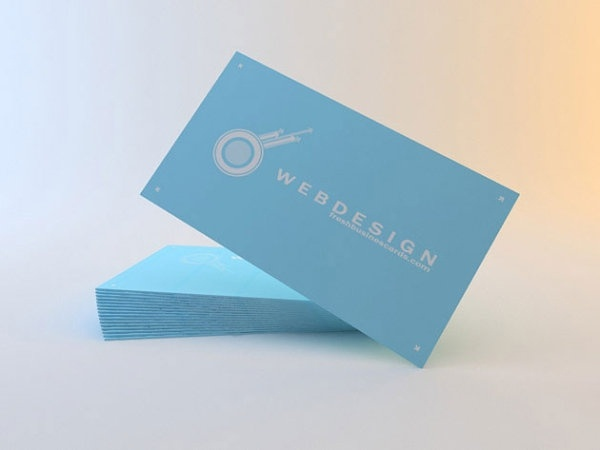 free psd business cards beautiful color card layered