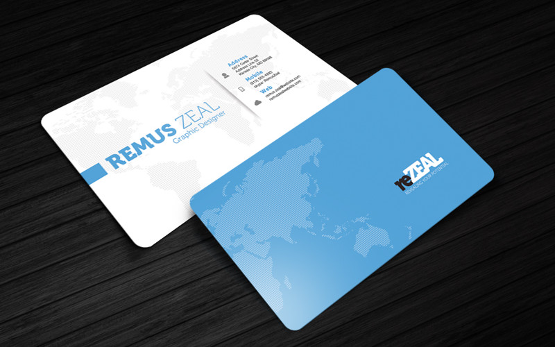 free psd business cards rezeal business card