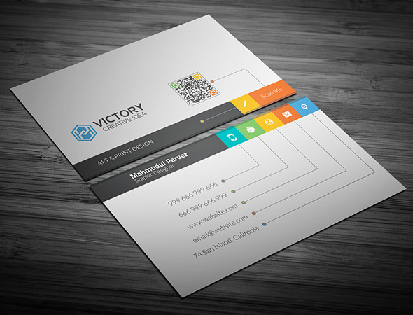 25 best free psd business card templates 2018 skyresoft blog creative business card wajeb Images