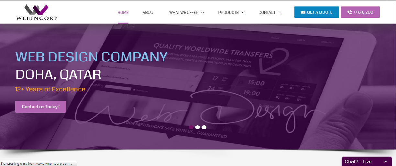 top 5 web design companies in qatar webincorp