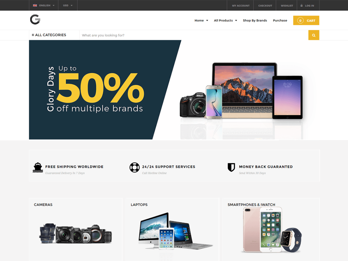 free wordpress theme grand-popo