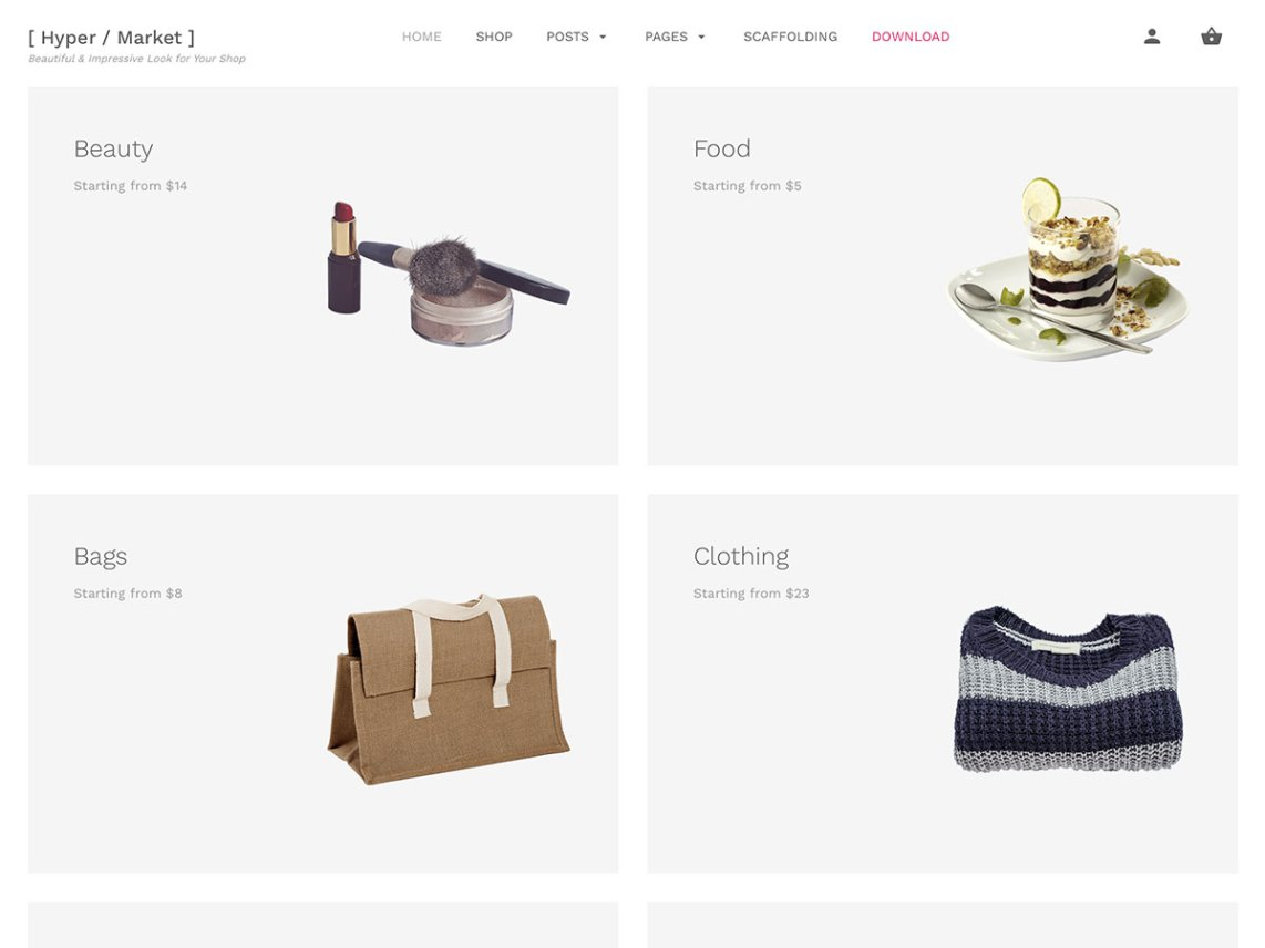 free wordpress theme hypermarket